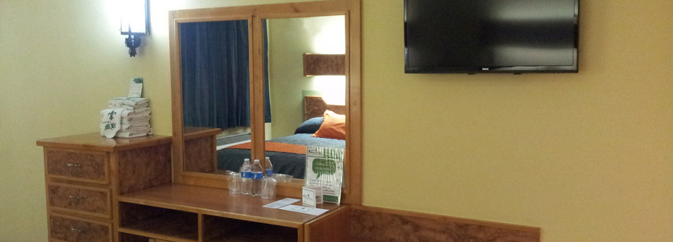 Vista Tocador cama 1 Habitación Doble Standard