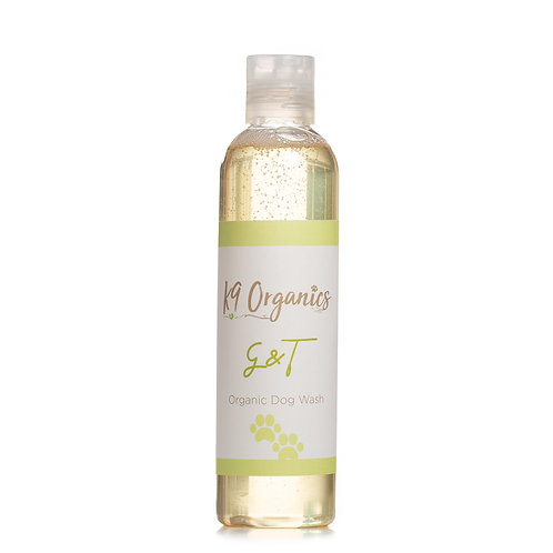 G & T Geranium & Tangerine Dog Shampoo  Available in 100ml, 250ml & 500ml