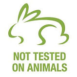not tested on animals, no animal testing