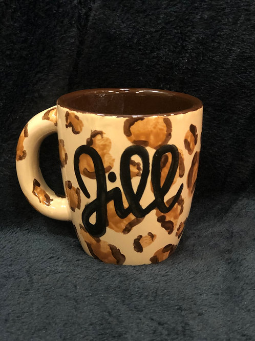 Animal Print Cafe Mug