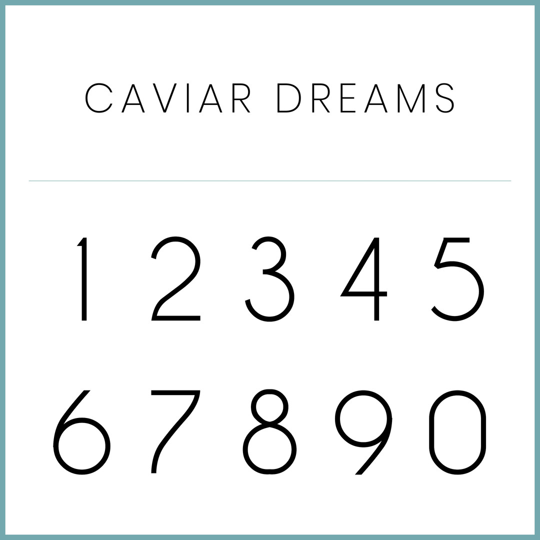 Caviar Dreams Numbers.jpg