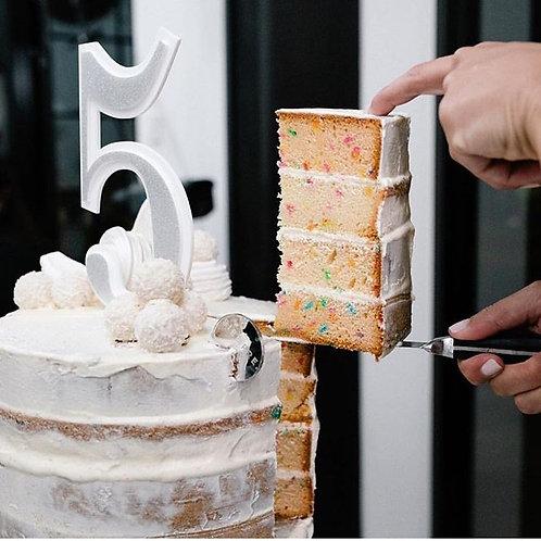 Single Digit Number Cake Topper