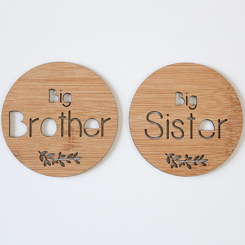 Big Sister / Big Brother Button