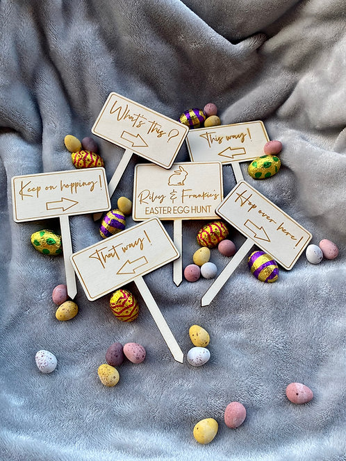 Easter Egg Hunt Personalised Stakes