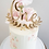 Thumbnail: Wreathed Written Number Cake Topper