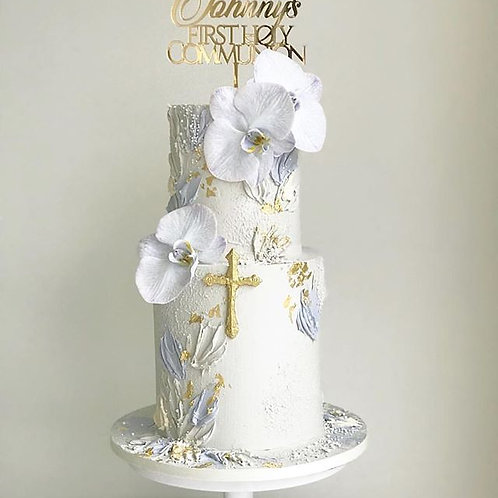 Holy Communion Personalised Cake Topper