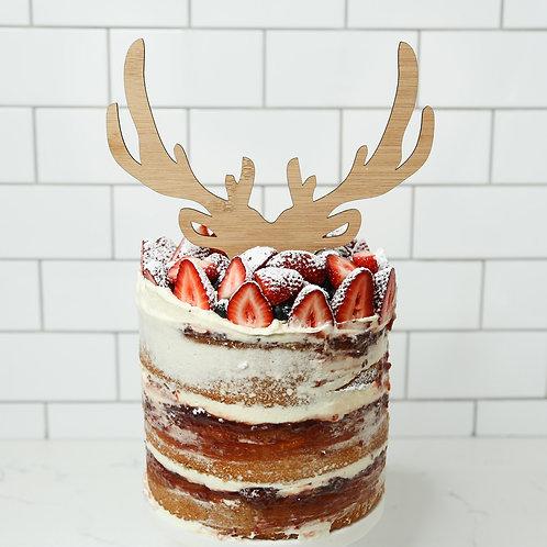 Reindeer Antlers Cake Topper