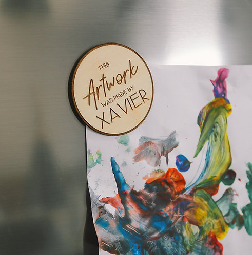 Artwork Personalised Magnet