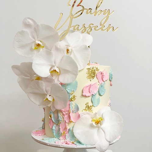 Baby Name Personalised Cake Topper