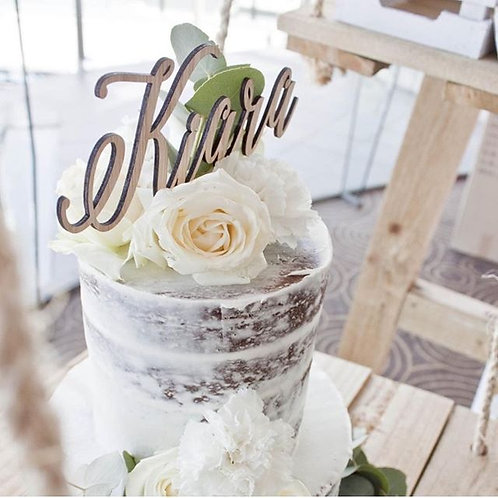 Name Personalised Cake Topper