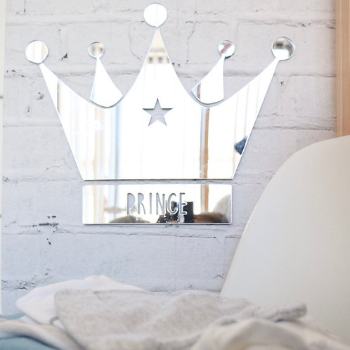 Prince Crown Wall Plaque