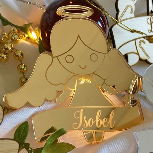 Little Angel Personalised Ornament