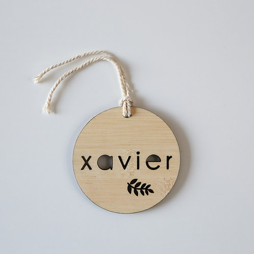 Hollow Branch Personalised Bag Tag