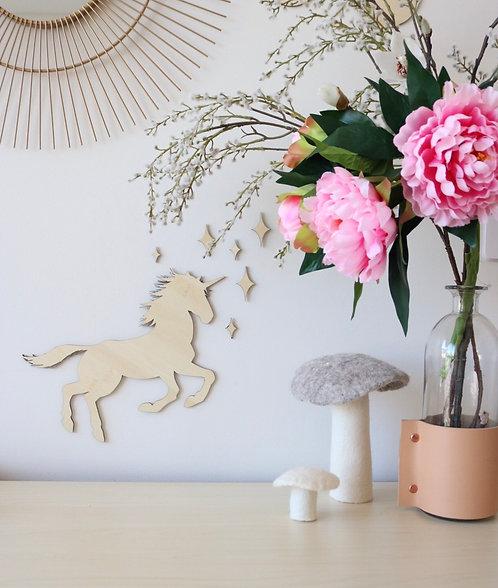 Unicorn Wall Plaque