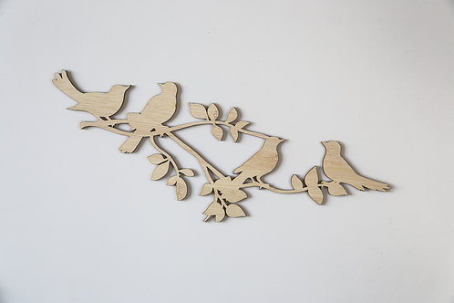 Branches Wall Plaque