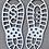 Thumbnail: Santa Claus & Easter Bunny Footprint Stencils Bundle