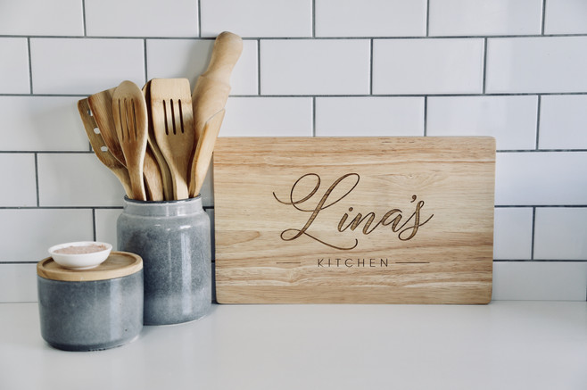Their Kitchen Personalised Serving Board