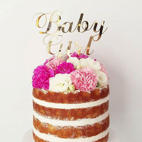 Baby Girl/Boy Cake Topper