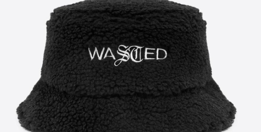 Wasted Paris Sherpa Bucket Black