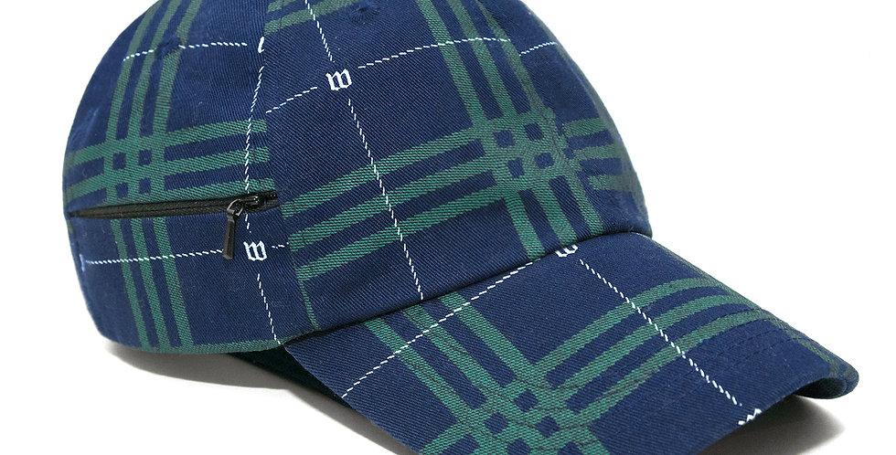 WastedParis Tartan Blue Hat