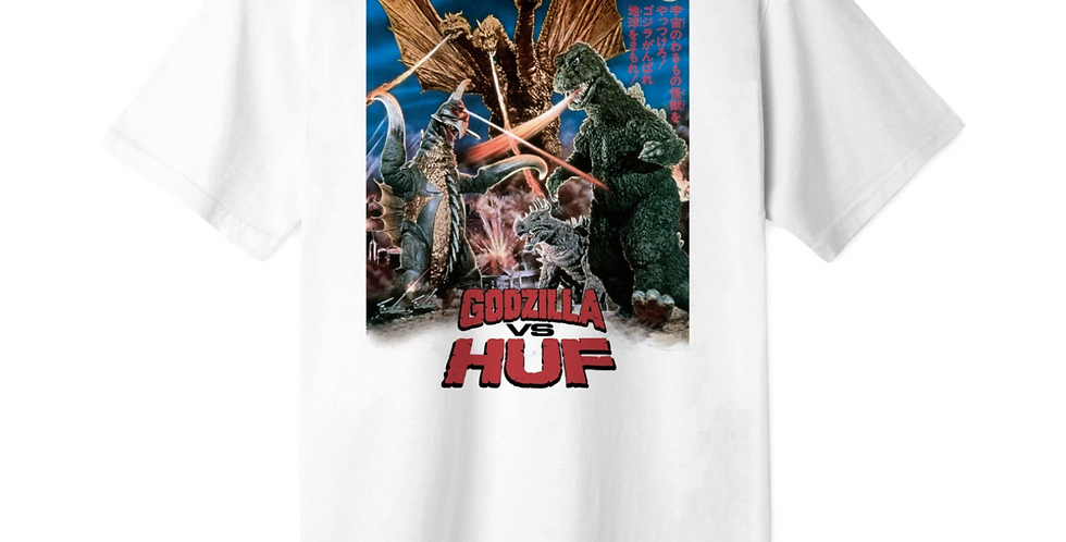 Huf x Godzilla Destroy All Monsters Tee