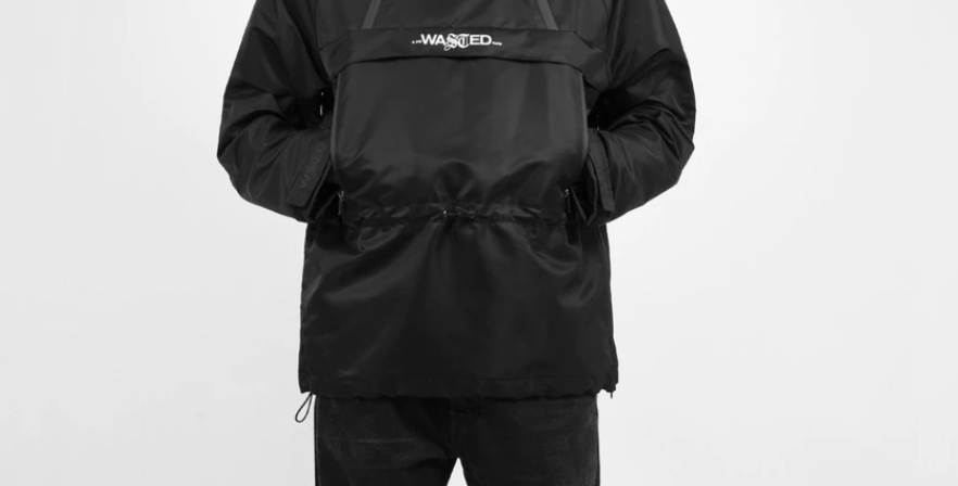 Wasted Paris Arsenal Windbreaker Black