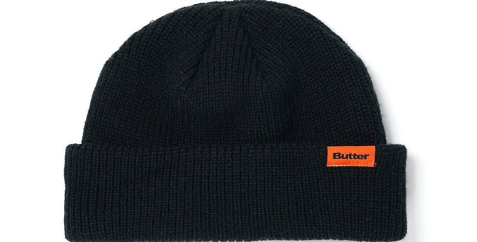 Butter Goods Wearfie Black Beanie