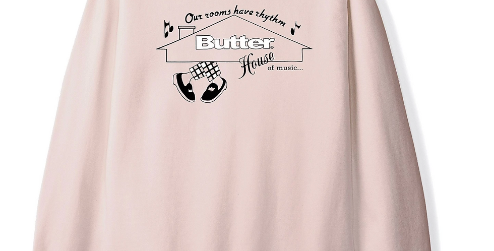 Butter Goods House of music Crewneck