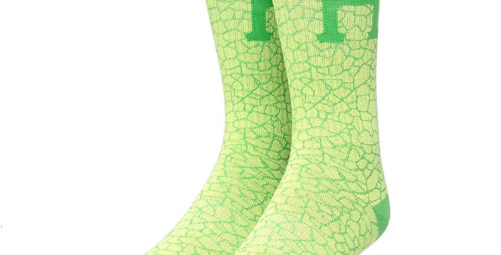 Huf Tonal Lime Sock