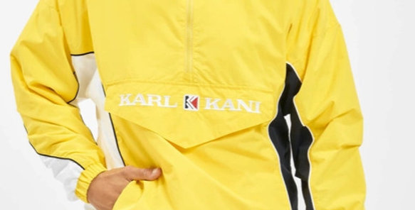 Karl Kani Yellow Windbraker