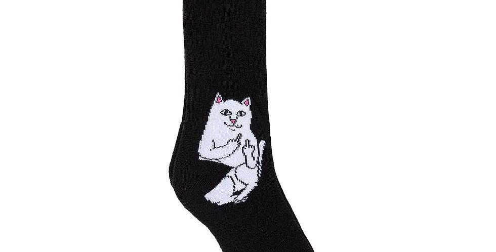 Ripndip Lord Nermal  Black Sock
