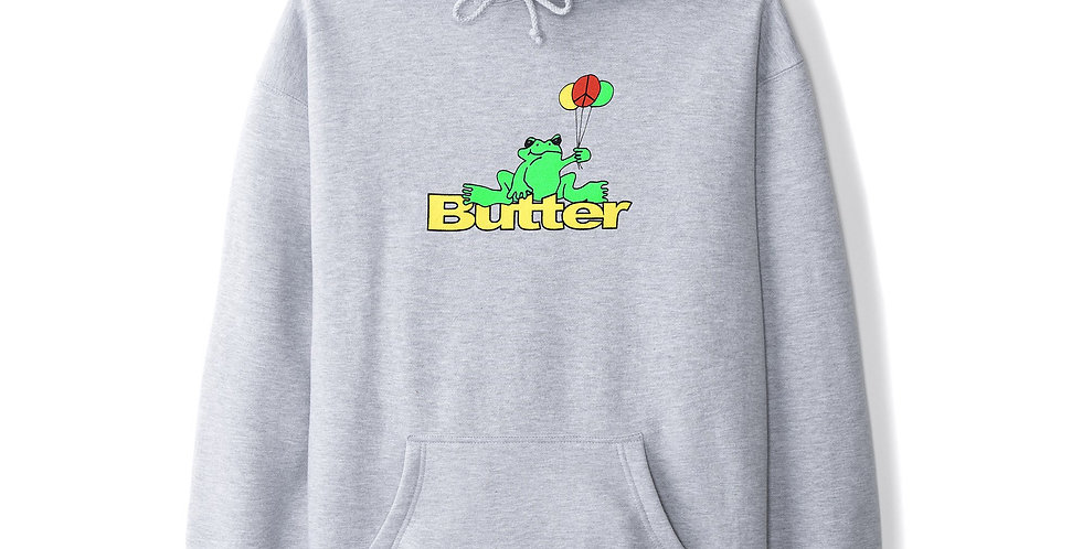Butter Goods Frog Heather Grey Pullover