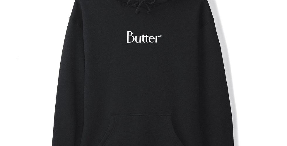 Butter Goods Classic Logo Black Pullover