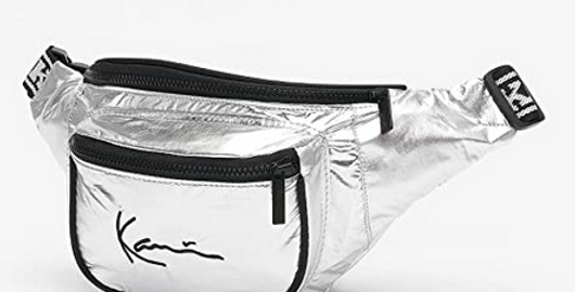 Karl Kani Silver Waist Bag