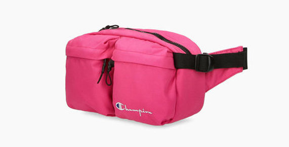 Champion Cordura Double Zip Fanny Pack Pink
