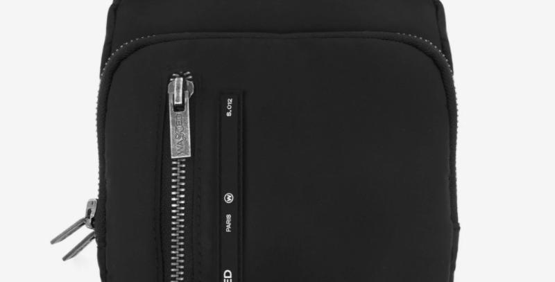 Wasted Paris  Daily Bag Nylon Black