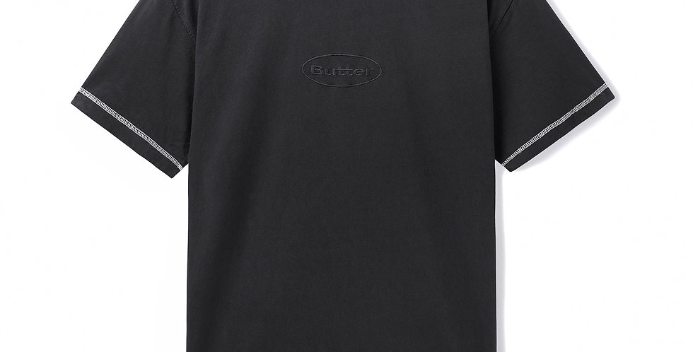 Butter Goods Chain Stich Black Tee