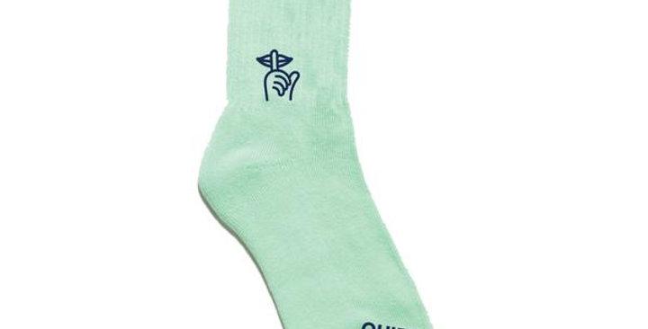 Quiet Life Mint Sock