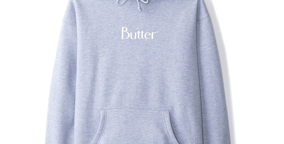 Butter Goods Classic Logo Grey Pullover