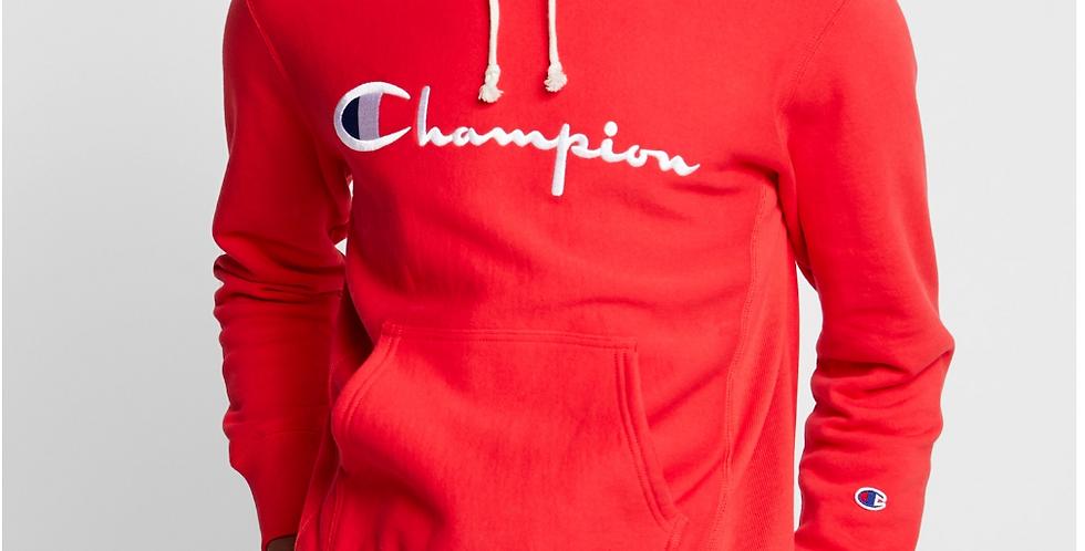 Champion Scrip Red Hoodie