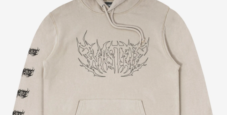 Wasted Paris Shadow Faded Sand Hoodie