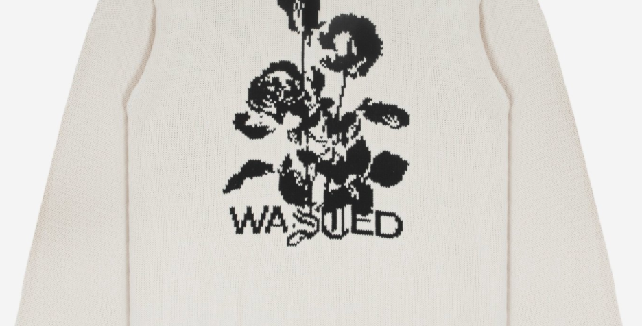 Wasted Paris Sweater Unloveable Ivory