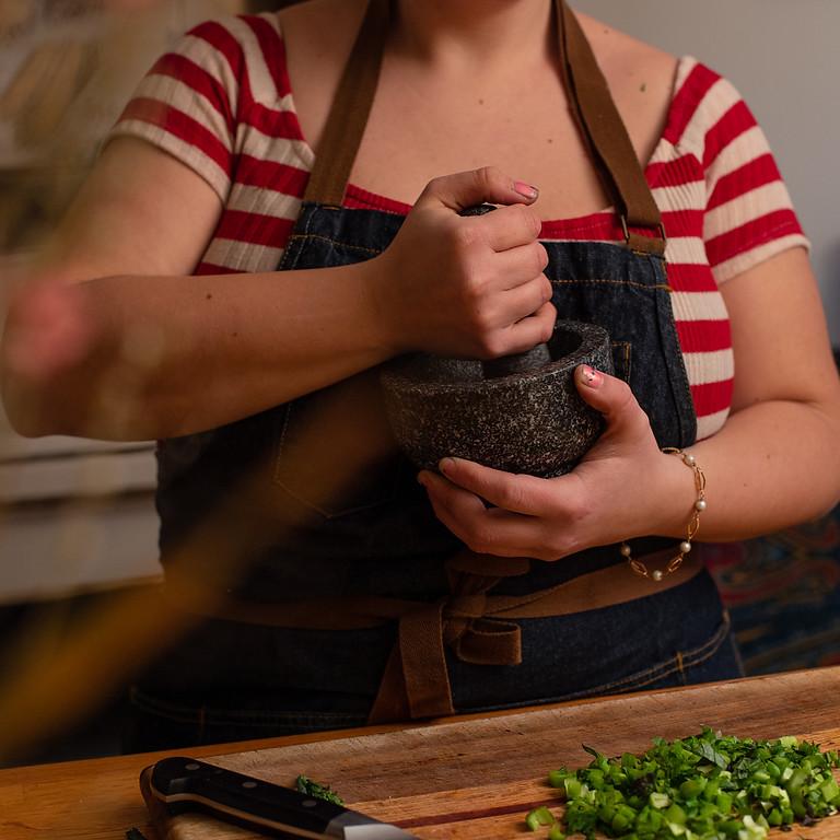 Caregiver + Kids Cooking