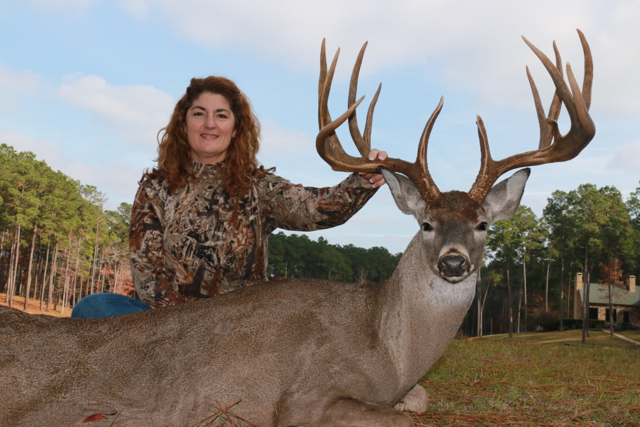 """Monster 214"""" Texas Trophy Whitetail"""