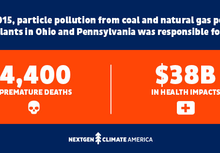 Our Air: The Health and Equity Impacts of Burning Coal and Natural Gas in Pennsylvania and Ohio