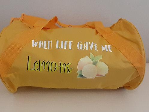 Lemonade Duffle Bag w/Pocket