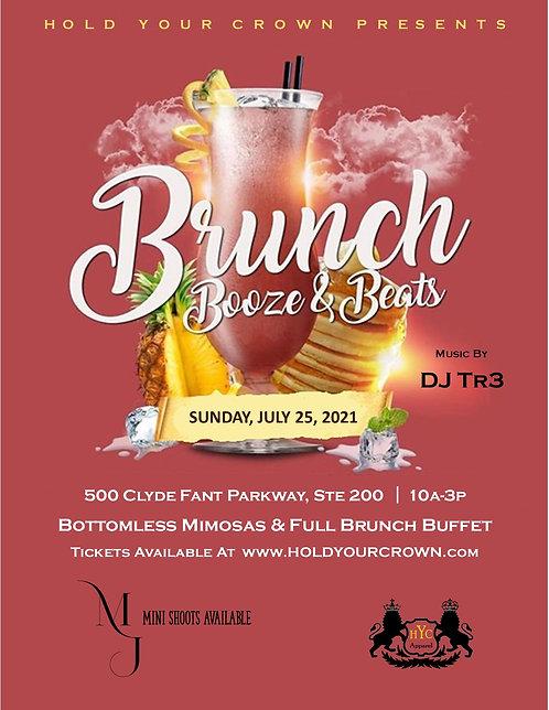 Brunch, Booze & Beats