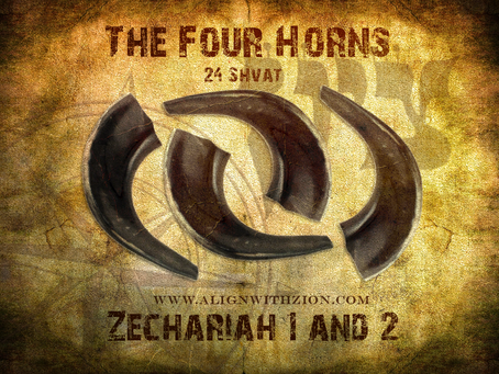 The deep connection between the month of Shevat and the four horns