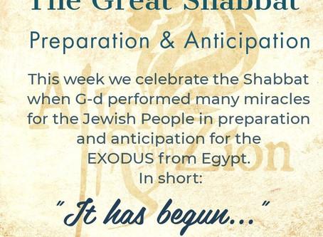 The Great Shabbat