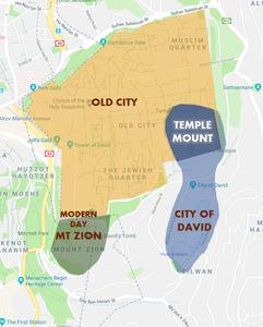 The True Location of Ancient Biblical Jerusalem